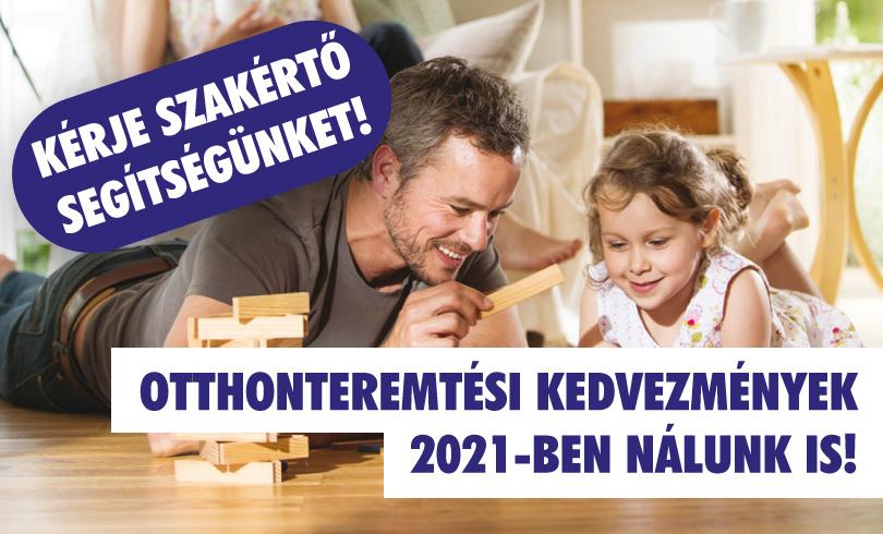 Otthonteremtés 2021